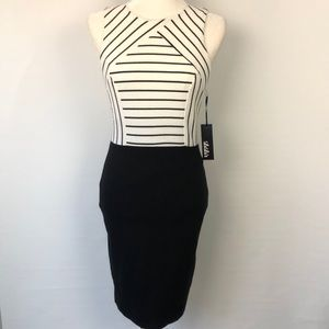 Lulu's NWT Striped Top Sleeveless Pencil Dress